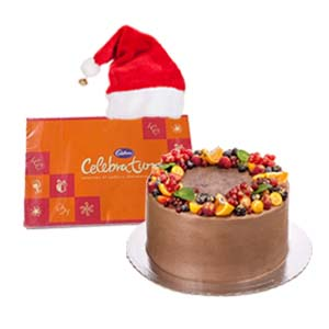chocolate-fruit-cake-for-xmas-combos-Bhopal