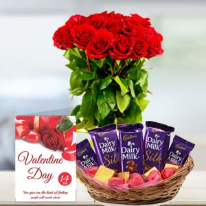 Chocolate With Roses: Gifts Tt Nagar,  Bhopal