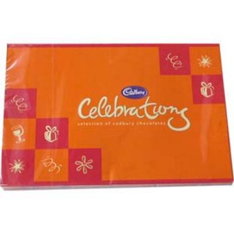 Cadbury Celebrations Chocolates Teddy, Red Roses & Cake, Bhopal