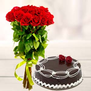 roses-and-cake-kokta-Bhopal