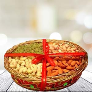 Dry Fruit Basket Small: Dry fruits Baskheda, Bhopal