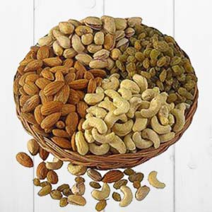 Dry Fruit Basket Big: Gifts Arhedi,  Bhopal