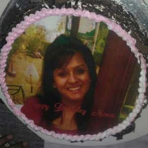 Photo Cake 1kg: Gift Kahna Sayiya,  Bhopal