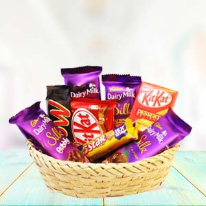 Chocolate Basket Mixed: Gift Maksi,  Bhopal