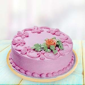 Strawberry Cake: Cakes Arera-hills, Bhopal