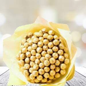 60 Ferrero Rocher In Bunch: Unique-mothers-day-gifts  Bhopal