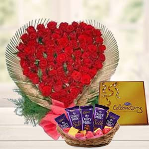 Special Love  Arrangement: Gifts Tt Nagar,  Bhopal
