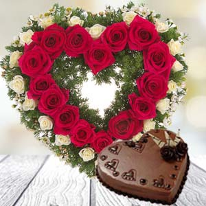 Heart Shaped Combo: Valentine's Day Gift Ideas Bda Colony,  Bhopal