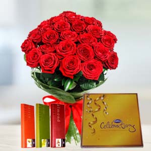 Cadbury Chocolates Combo: Valentine's Day Gifts For Girlfriend Meerpur,  Bhopal