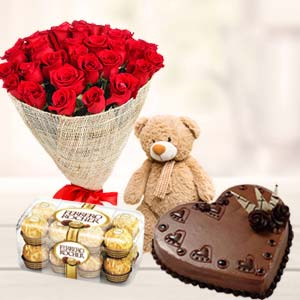 Combo For Valentines: Valentine's Day Gifts For Him Parewa Kheda,  Bhopal