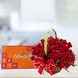 Cadbury Celebration With Roses: Valentine's Day Lalghati,  Bhopal
