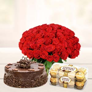 Roses Basket Combo: Friendship-day  Bhopal