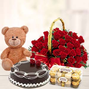 Valentine Day Perfect Combo: Gift Bda Colony,  Bhopal