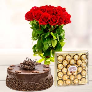 Ferrero Rocher Combo 24 Pieces: Valentine's Day Gifts For Girlfriend Bagmugalia,  Bhopal