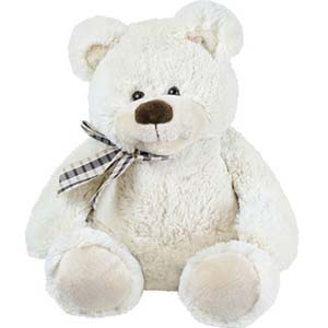 1 feet White Teddy Bear Soft Toys Idgah Hills, Bhopal