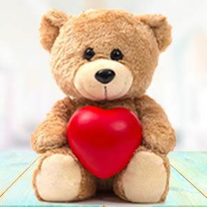 Brown Teddy With Pillow: Friendship-day  Bhopal