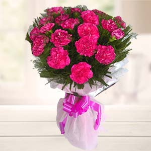 Bunch Of Carnations: Gift Bhauri,  Bhopal