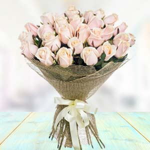Bouquet Of White Roses: Flowers  Bhopal