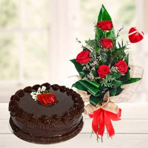 Best Flowers Combo: Valentine's Day Gifts For Him Palasi,  Bhopal