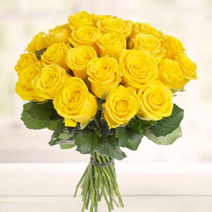 Yellow Roses Bunch: Gift Habib Ganj,  Bhopal