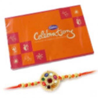 Rakhi Celebrations Combo: Rakhi Data Colony,  Bhopal