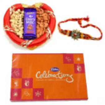Rakhi Celebrations GIft Hampers: Rakhi Parewa Kheda,  Bhopal