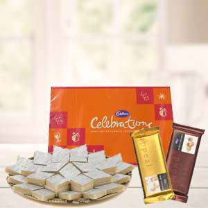 Sweets Combo With Cadbury Celebrations: Gift For Friends Tt Nagar,  Bhopal