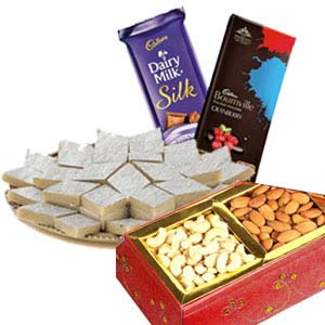 Medium Dry Fruits Box Combo: Gift For Friends Nishatpur,  Bhopal