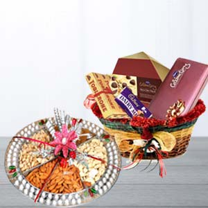 Assorted Chocolates With Dry Fruits: Gifts For Brother Kolar Rd,  Bhopal