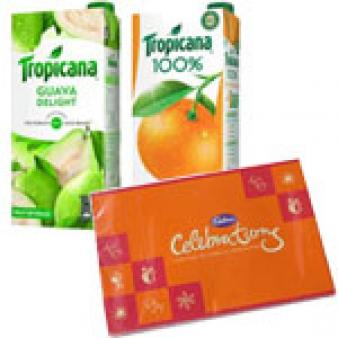 Tropicana Juice Celebration Combo: Gifts For Brother Sikandrabad,  Bhopal