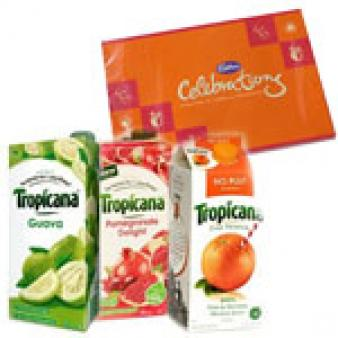 Three Tropicana Juice Combos: Gifts For Wife Idgah Hills,  Bhopal