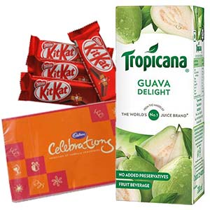 Tropicana Juice Chocolates Combos: Gift For Friends Kal Khedi,  Bhopal