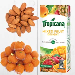Tropicana Mixed Fruits Combo: Gifts For Sister Janki Nagar,  Bhopal