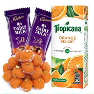 Tropicana Orange Juice Combo: Gifts For Sister Janki Nagar,  Bhopal