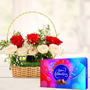 Roses Gift Combos: Gift For Friends Abbas Nagar,  Bhopal