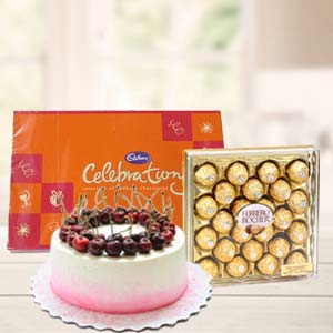 Regular Chocolate Combo Gifts: Gifts For Her Kahna Sayiya,  Bhopal