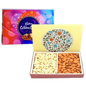 Dry Fruits With Celebration: Gifts For Her Shyampur,  Bhopal
