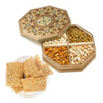 Dry Fruits Combo With Gajak: Lohri Gifts Bagmugalia,  Bhopal