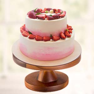 Strawberry Fruit Cake: Valentine's Day Gift Ideas Barkheda Nathu,  Bhopal