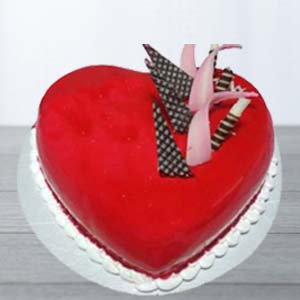 Red Velvert Cake: Valentine's Day Gifts For Him Suraj Nagar,  Bhopal