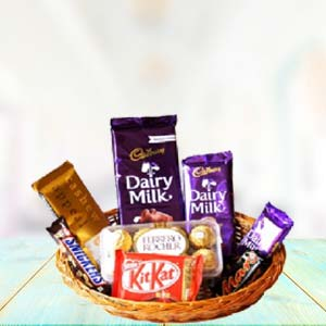 Sweetness Of Chocolates: Gifts For Sister Barkheda Nathu,  Bhopal